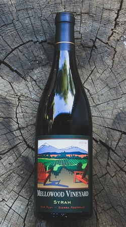2010 Mellowood Vineyard Syrah
